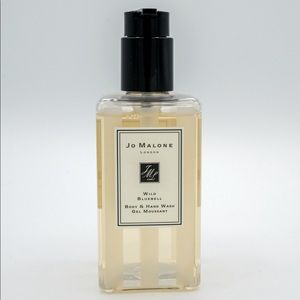 NEW Jo Malone Wild Bluebell Body & Hand Wash